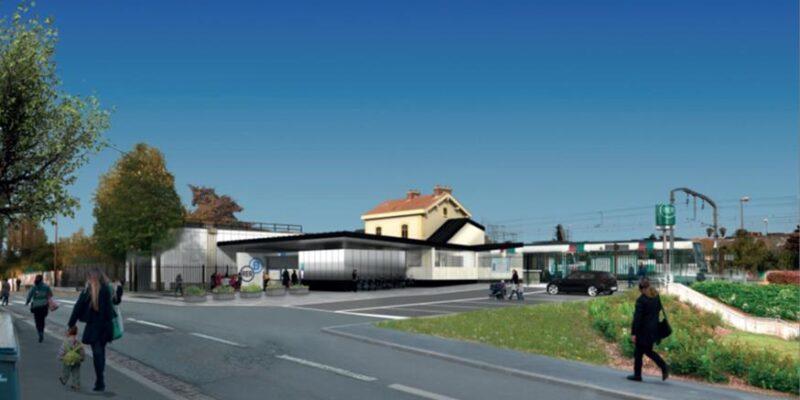 Gare RER CROIX DE BERNY